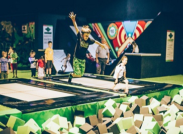 Flip Out Leicester Trampoline Centre Leicester